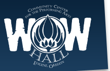WOW Hall - Community Center for the Performing Arts (Logo)